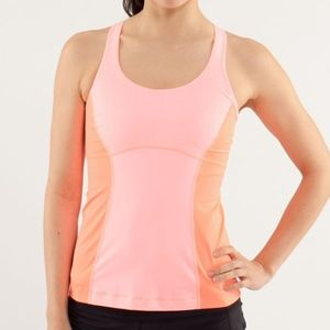 Lululemon Run: Pace Tank Bleached Coral 4